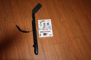 Wii NHL slap shot and Mario cart