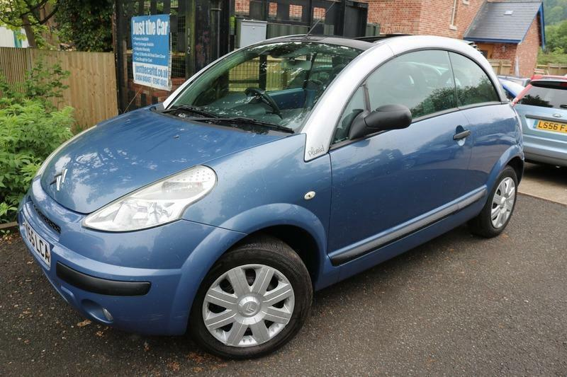 2005 55 citroen c3 pluriel 1 4hdi blue convertible diesel fsh 1 lady owner in chesham. Black Bedroom Furniture Sets. Home Design Ideas