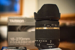 TAMRON 18-270mm 15x SuperZoom for Nikon mount - like new! OBO