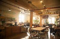 We are Seeking a Full-Time Cafe Manager & Professional Barista