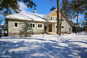 Stunning Waterfront Bungalow for Sale in Dunrobin