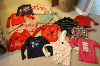 13 Gorgeous girls long sleeve shirts and sweaters size 6