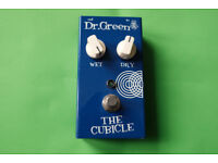 Dr. Green reverb effect pedal, unwanted gift, like-new, boxed.