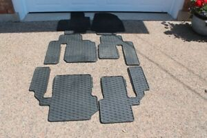 Mazda CX9 Winter floor mats and cargo cover