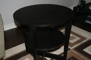 two livingroom tables and coffee table