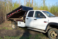 2008 Dodge 5500 with Hydradeck, Bins and Dumpbox