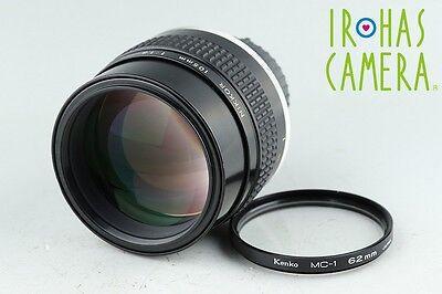 Nikon Nikkor 105mm F/1.8 Ais Lens #12554A4