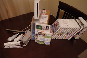 Wii Console, Balance Board, Lots of Games, and more!!!