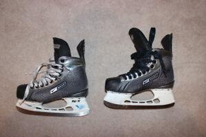 Bauer Supreme 55 skates. Size 7ee.