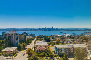 Central Lonsdale 2 bedroom condo for rent