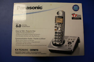 Panasonic Cordless Phone with built in Answering Machine Peterborough Peterborough Area image 1