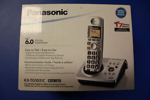Panasonic Cordless Phone with built in Answering Machine