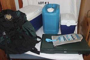 Lot #1 - Camping Items