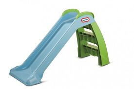 Little tikes my first slide green/blue