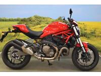 Ducati Monster M821 2015 ** ONE OWNER, DIGITAL DISPLAY, R&G PROTECTION **