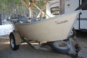 Aluminum Hull Drift Boat w/trailer for Sale