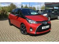 2016 Toyota Yaris Design Hybrid Vvt-I Automatic Hatchback Petrol/Ele Automatic