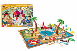 Jake and the NeverLand Pirates - Who Shook Hook? Game