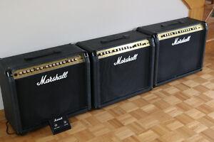 Marshall…3 super ampli de guitare Marshall **Made in ENgland ***