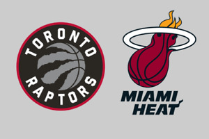 Raptors vs Heat - Sun. April 7 (Sec 117 & 109) 2-4 Tickets