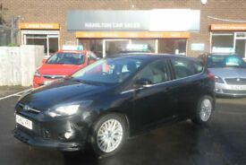 Ford Focus 1.6 SCTI ( 180ps ) EcoBoost Zetec S - 1 Yr MOT, Warranty & AA Cover