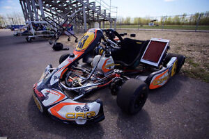 Crg 125 shifter race kart