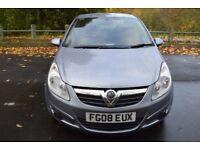 Vauxhall Corsa 1.2I 16V LIFE A/C ** 6 MONTH WARRANTY ** (grey) 2008