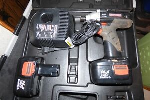 battery drill  impact craftsman