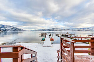 60' Lakefront on 1.9 Acres!