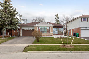 Bungalow House Main Floor with or without Basement in Malton