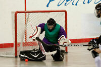 Ball Hockey Goalie Looking for More Play Time!