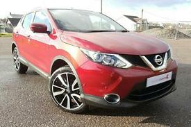 2016 16 Nissan Qashqai 1.5dCi Diesel Tekna Panoramic Glass roof with Navigation