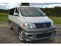 FRESH IMPORT TOYOTA GRAND HIACE SIDE CAMPER CONVERSION ALPHARD BONGO ELGRAND