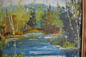 LARGE FERNAND LABELLE OIL PAINTING 20 X 24 inches SIGNED Gatineau Ottawa / Gatineau Area image 4
