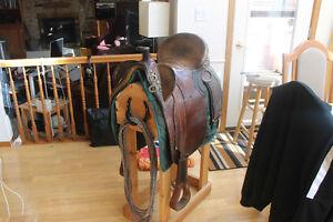 Australian Saddle and Bridle