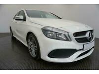 2016 WHITE MERCEDES A200D 2.1 AMG LINE DIESEL MANUAL CAR FINANCE FR £225 PCM