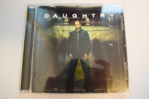 Daughtry  - used music CD