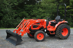 Kioti CK3510 HST Brand New Tractor and Loader