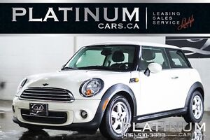 2011 MINI Cooper HATCHBACK/ MANUAL/ LEATHER/ AIR CONDITIONING