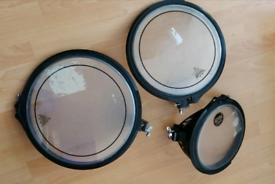 """Arbiter flats drum 10""""12""""14 /pearl /Mapex /Tama"""
