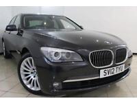 2012 12 BMW 7 SERIES 3.0 730D SE 4DR AUTO 242 BHP DIESEL