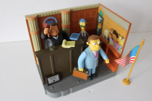 Simpsons World of Springfield Environment with Figures