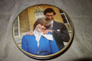 Princess Diana/Charles Biscuit Tin 1981