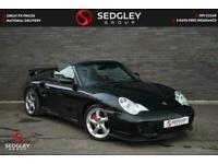 2005 Porsche 911 3.6 996 Turbo Cabriolet Tiptronic S AWD 2dr Convertible Petrol