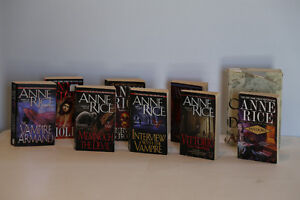 "Set of Anne Rice ""Vampire Series"" books and others"