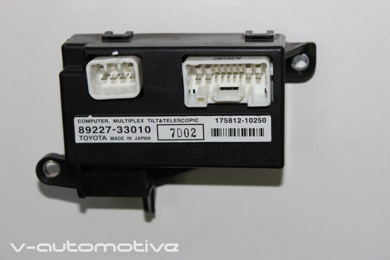 2007 LEXUS LS 460 / MULTIPLEX TILD & TELESCOPIC CONTROL MODULE 89227-33010