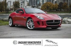 2015 Jaguar F-Type Coupe S at *Certified Pre-Owned! Sale ON NOW!