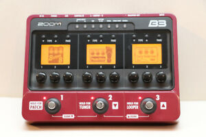 Zoom B3 Bass effects and amp simulator pedal with drum machine