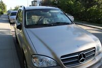 2002 Mercedes-Benz ML500 SUV, Crossover (LOW KILOMETERS)