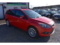 Ford Focus 1.6TDCi 110Titanium RED ESTATE 2009 MODEL +STUNNING+